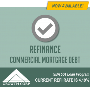 SBA 504 Refinance Now Available!