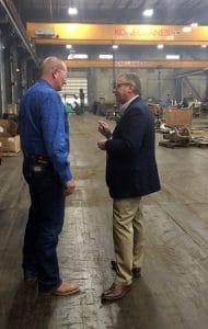 Congressman Bost Visits Rural Small Business