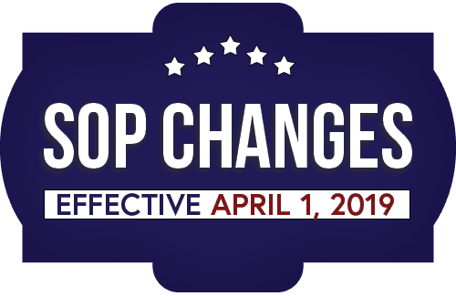 SBA 504 SOP Changes 2019